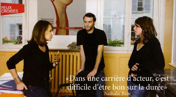 Nathalie baye : article paru dans le magazine studio en octobre 2008